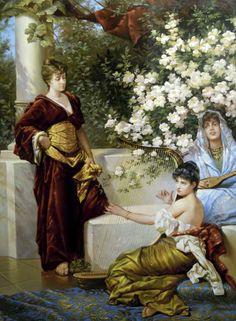 Conrad Kiesel (1846 – 1921) – Pintor Alemão_19