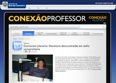 Portal da SEEDUC_RJ destinado aos professores: Repositório de recursos digitais, notícias, dicas etc...
