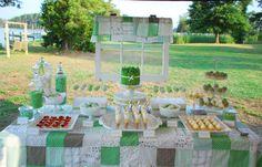 green pea pod party