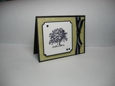 Another stamp of Lovely As a Tree card. I love all these cards...