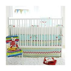 Jelly Bean Parade 4 Piece Crib Bedding Set by New Arrivals Inc.