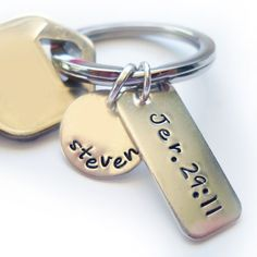 Personalized Key Chain with Jeremiah 29:11 – ChristianGiftsPlace.com Online Store