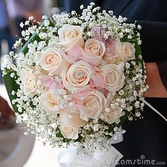 bouquet de mariée rose - Recherche Google