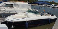 Embarcación de recreo Jeanneau Cap Camarat wa con toldo bimini Carvid marine 4 arcos Aluminio. Disponible en nuestra web: www.carvidmarine.com Sailing, Boat, Boats, Budget, Candle, Dinghy, Ship