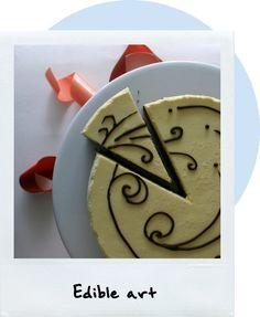 Chocolate Genoise Orange Mousse Cake
