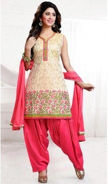 #Chanderi #Silk #Beige Color Straight Cut Punjabi Patiyala Readymade Dresses   FH500476567 #punjabi , #patiyala, shindhi, #suits, #narrow, #dresses, #salwar, #kameez, #straight, #long, #heenastyle, #indian, #online, #shopping, #clothing, #womens, #girls, #style, #mode, #henna, #hina, #mehendi, #dupatta, #chudidar, @heenastyle , #pakistani, #readymade
