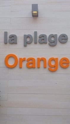 The Orange beach on the Croisette #cannes2013 #orange #cinema