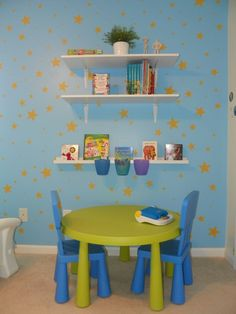 My Sons Toy Story Inspired Room Toddler Toy Story Room Boys Rooms Design I Like The Table And Chairs