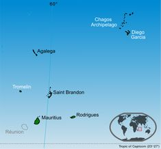 Islands of the Republic of Mauritius labelled in black; Chagos Archipelago and Tromelin are claimed by Mauritius. Mauritius Travel, Mauritius Island, Dutch Republic, The Republic, Country Information, Tropic Of Capricorn, Diego Garcia, Island Nations, Beautiful Places To Visit