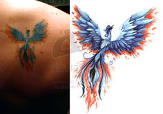Phoenix Tattoos For Women   Phoenix Tattoo Shoulder Tattoo - Free Download Tattoo #24168 Phoenix ...