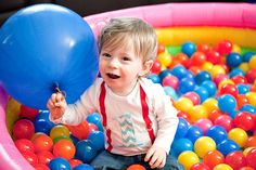 First Birthday Ball Pit alison donahue photography: My Baby Turned One.........