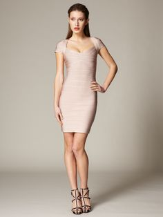 Relaxed Luxury - Blush herve leger