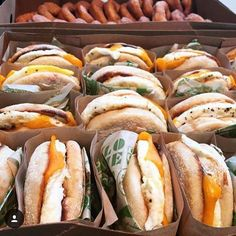 [Breakfast] Super Duper Burger Mini Breakfast - Egg Sandwich with cheese [Eatdrinksf]