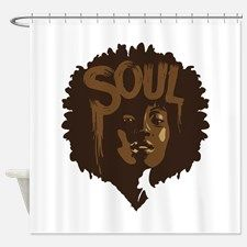 Soul Fro Shower Curtain For