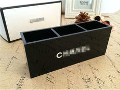Акрил красоты три решётка коробка для косметики кисть ведро рукоятка ёмкость ящики с девушкой