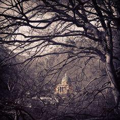 #november #Oropa #church #BlackMadonna #mountain #Piedmont #Italy #autunno Foto di Lorella Carlino