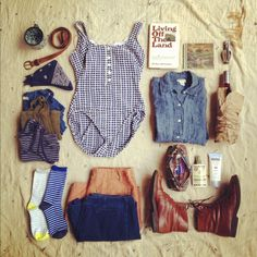 packing for a camping trip, summer 2012  via http://instagram.com/mousetrapvtg