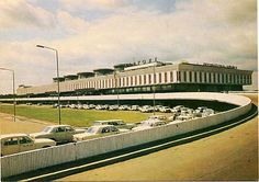 Leningrad, The Pulkovo Airport, Designed by Alexander Zhuk and Jean Verzhbitsky Back In The Ussr, Constructivism, Brutalist, Architecture Design, Postcards, Airports, Roads, Concrete, Russia