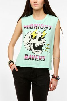 Truly Madly Deeply Midnight Ravers Muscle Tee #urbanoutfitters