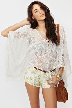 Daisy Lace Top  http://www.nastygal.com/whats%2Dnew/daisy%2Dlace%2Dtop?utm_source=pinterest_medium=smm_campaign=pinterest_nastygal