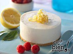 Cheesecake Ricotta et citron (sans cuisson)