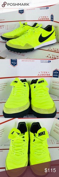 b80c1f9a5bf2 Nike Mens Tiempo X Volt 843962-707 New Nike Mens Tiempo X Proximo Turf  Soccer