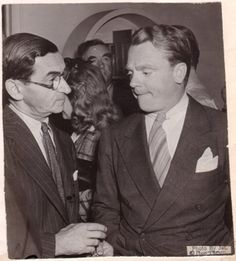 James Cagney with Irving Berllin