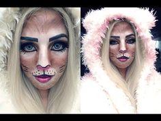 Maquillaje para Halloween fácil para chicas http://ini.es/1rsLY3Z #MaquillajeParaHalloween, #MaquillajeYPeluquería, #VideoDecoracion