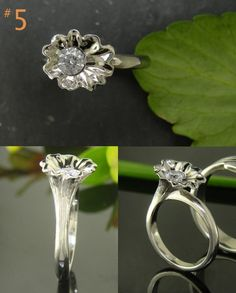 Simple yet stunning! #engagement ring! #greenlakejewelry