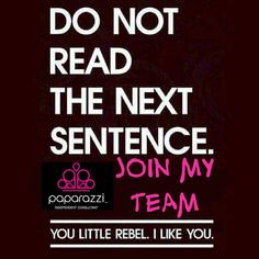 Be a rebel! Here's why I chose Paparazzi Accessories over the many many other companies!  You should choose it too! paparazziaccessories.com/ecwise