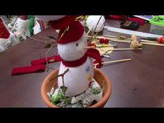 Mulher.com - 30/09/2016 - Boneco de neve no vaso - Monica Lixandrão P2 - YouTube