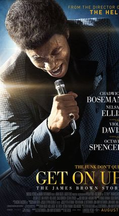 Get on Up (2014) - At times I felt like I really was watching James Brown. Chadwick Boseman is quickly becoming one of my favorite actors. He also did an amazing job playing Jackie Robinson in 42.