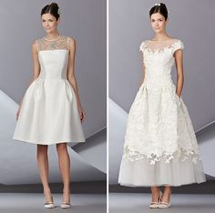 Autumn/Winter 2014 Bridal Favorites ✈ Friday's FAB 5 ______________________ I like how there's a ceremony and reception style :D