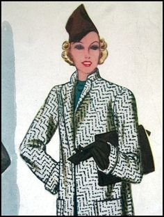 Vintage 1938 McCall Pattern Book
