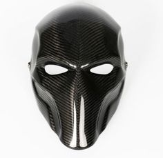 Real-full-carbon-fiber-HANDMADE-DEATHSTROKE-MASK-cosplay-for-Batman-Arkham