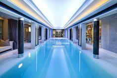 Winnington Road, N2, a #luxuryhome with exceptional leisure facilities. #swimmingpool #ensuitebathrooms