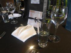 Circle dinner napkins