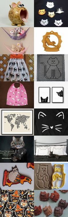 Cat's in the cradle by Robert Whitworth on Etsy--Pinned+with+TreasuryPin.com