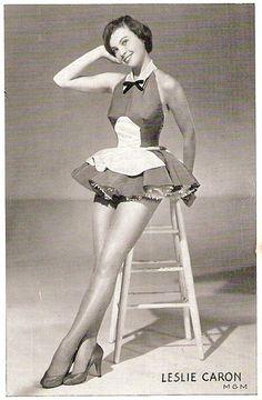 Cutesy Leslie Caron