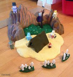 Hattivattien saari  Minulle kelpaa oikein hyvn vaikka nuo pelkät hattivatit, jos jollain on jäänyt nurkkiin pyörimään!!!