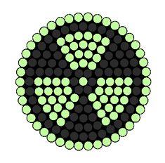 Radioactive Goggle Lense Perler Bead Pattern / Bead Sprite