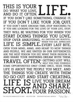 """""""Life"""" -  holstee-manifesto.jpg (4251×5905)"""