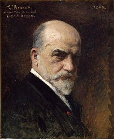 Leon Bonnat    Self portrait