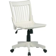 gregor swivel chair vittaryd white. Office Star Deluxe Armless Wood Bankers Desk Chair With Seat, Antique White Gregor Swivel Vittaryd S