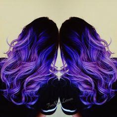 "Toni Rose Larson on Instagram: ""OMG how I LOVE my Violets and my StyleWinder!#pravana #pravanabalayage #pravanabalayagelightener #inspirehairstyles #hairandnailfashion #btcpics #modernsalon #TellUsHowYouBio #MyBigBreak #Toniroselarson #colordollz #colordollzbytoni"""