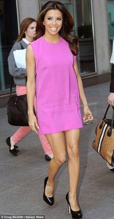 Gorgeous smile. Could teach Victoria Beckham a thing or two ;-) #Eva Longoria