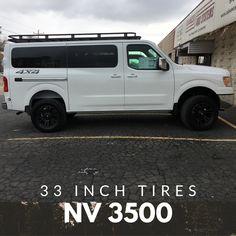 #advanced4x4 #4x4vans #nissannv #nv3500 Nissan Vans, 4x4 Van, Four Wheel Drive, Trucks, Vehicles, Truck, Car, Vehicle, Tools