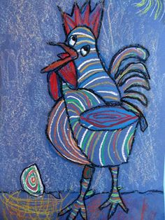 Picasso's rooster ( Art Imagination)