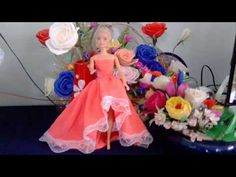 How to sew lace dress for barbie doll|Fashion Designer