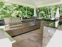 Outdoor Kitchen Design Tips For Portland Landscaping Infographic Captivating How To Design An Outdoor Kitchen Review